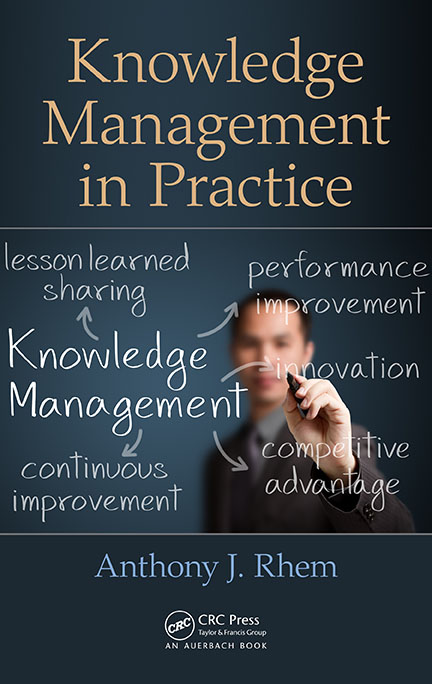 Knowledge Management in Practice by Anthony J Rhem