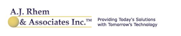 AJ Rhem Logo with Tag Line