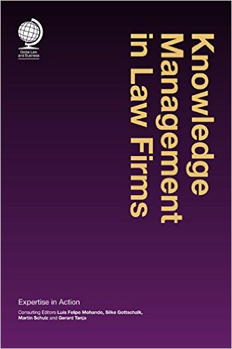 cover of Knowledge Management in Law Firms book