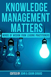 cover of Knowledge Management Matters book